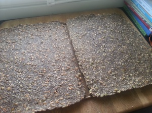 Fröbröd med chiafrön och brännässla